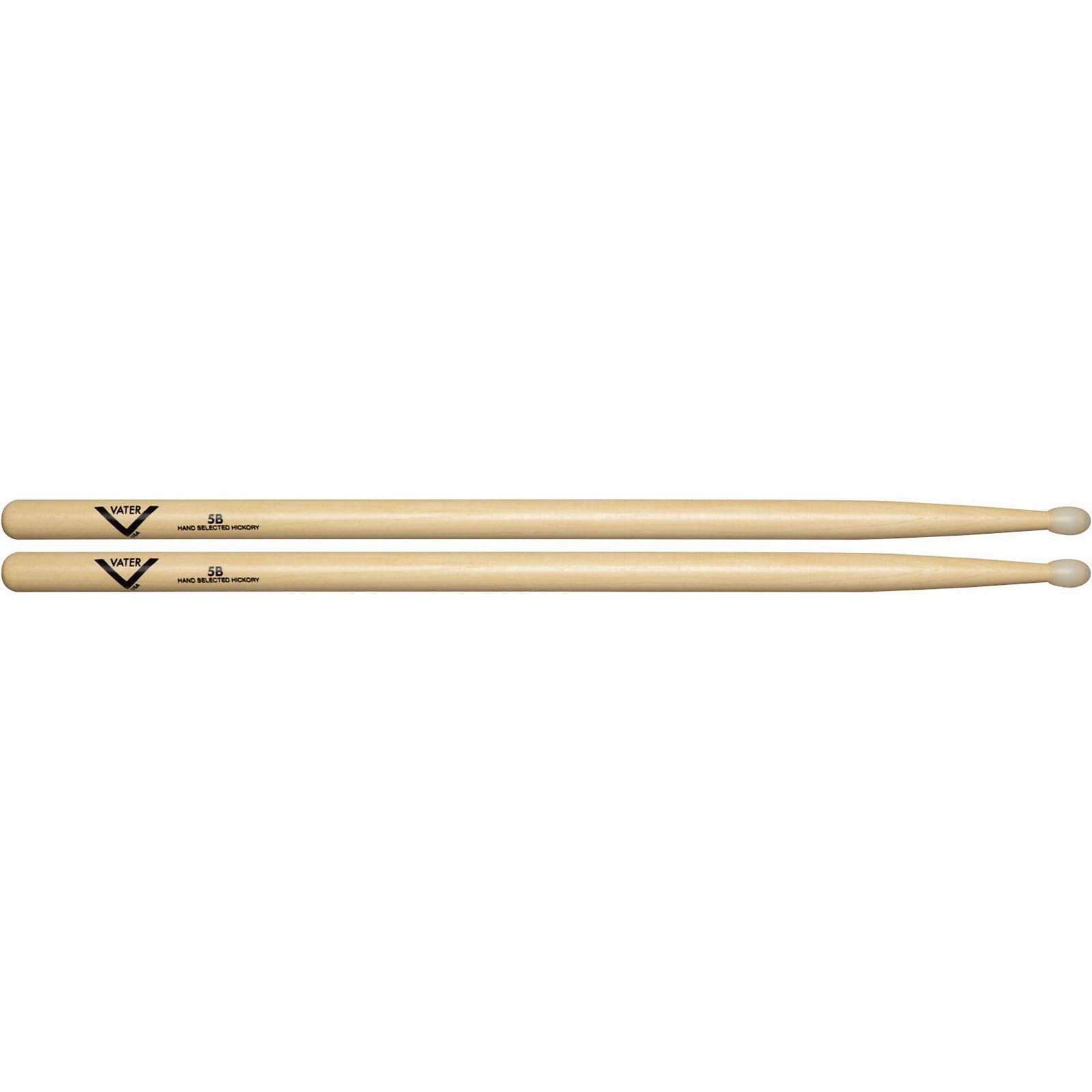 Vater American Hickory 5B Drum Sticks