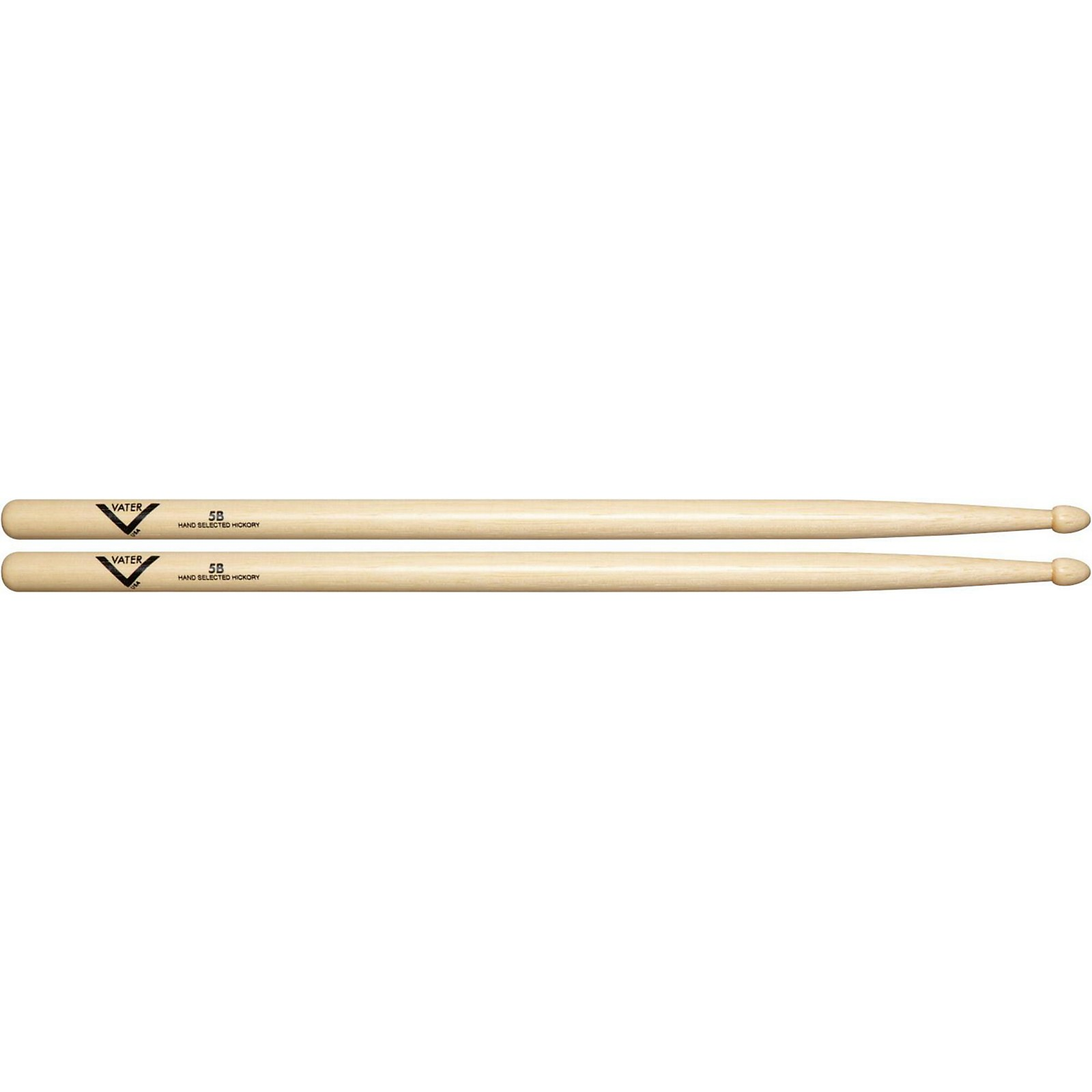 Vater American Hickory 5B Drum Sticks