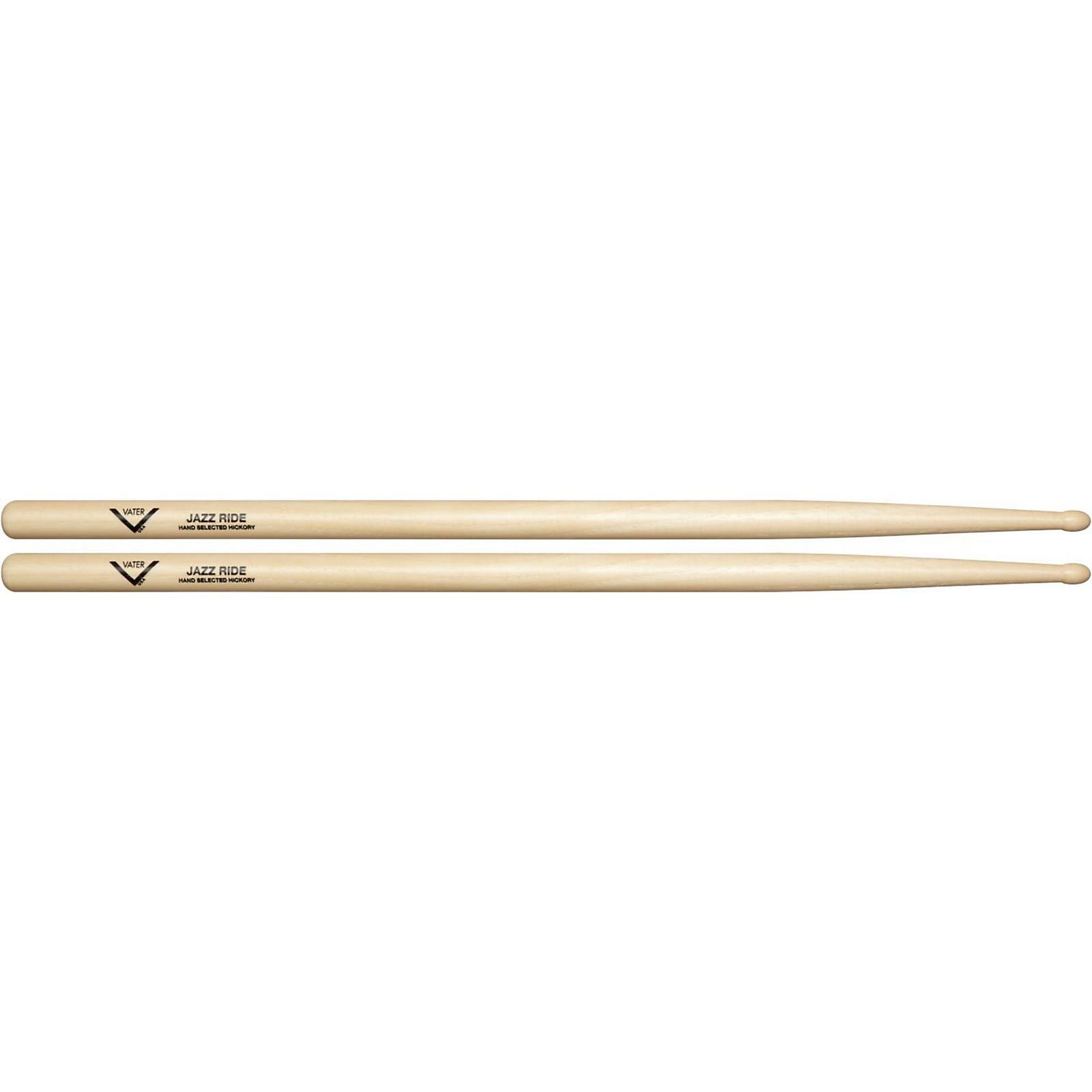 Vater American Hickory Jazz Ride Drumsticks