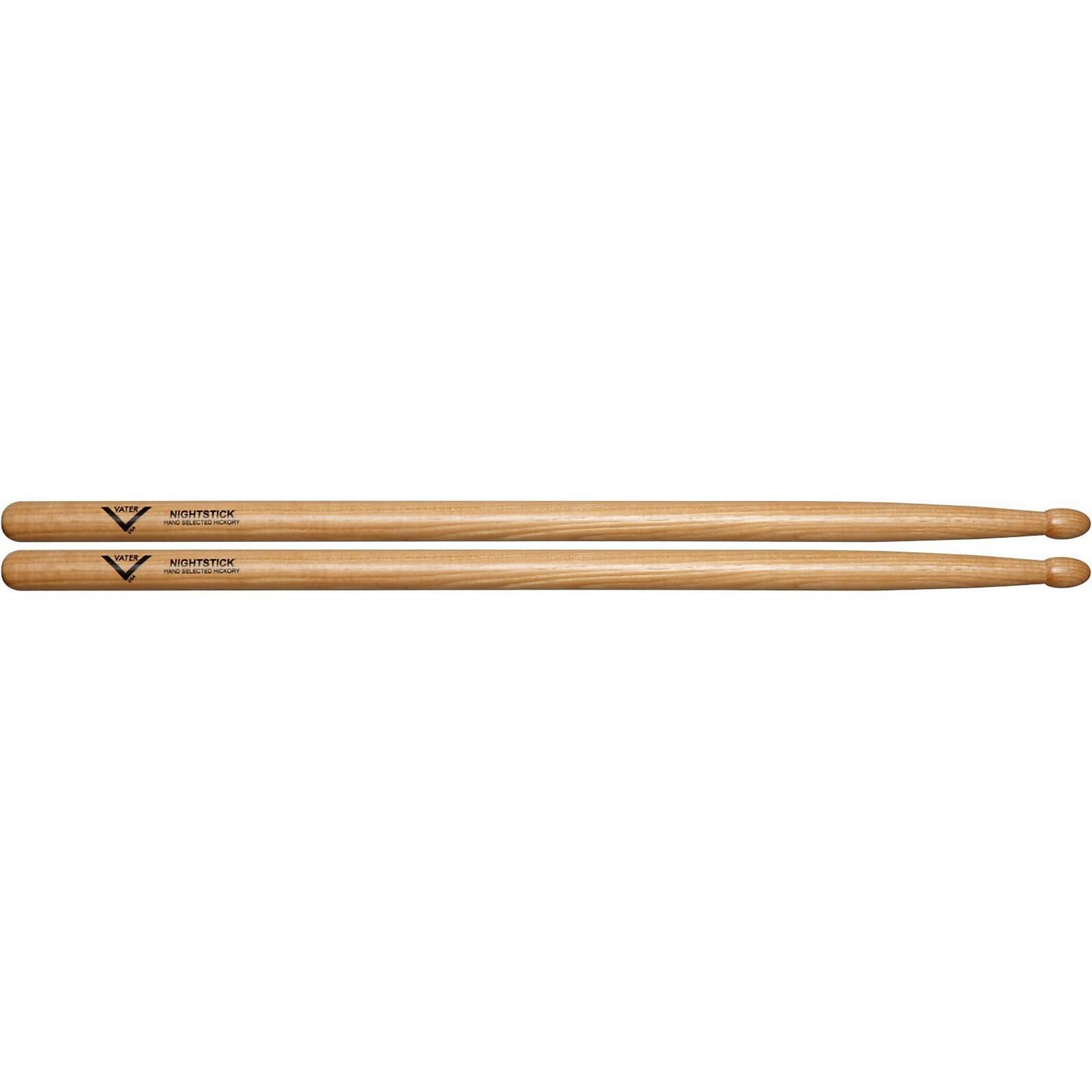 Vater American Hickory Nightstick 2S Drum Sticks