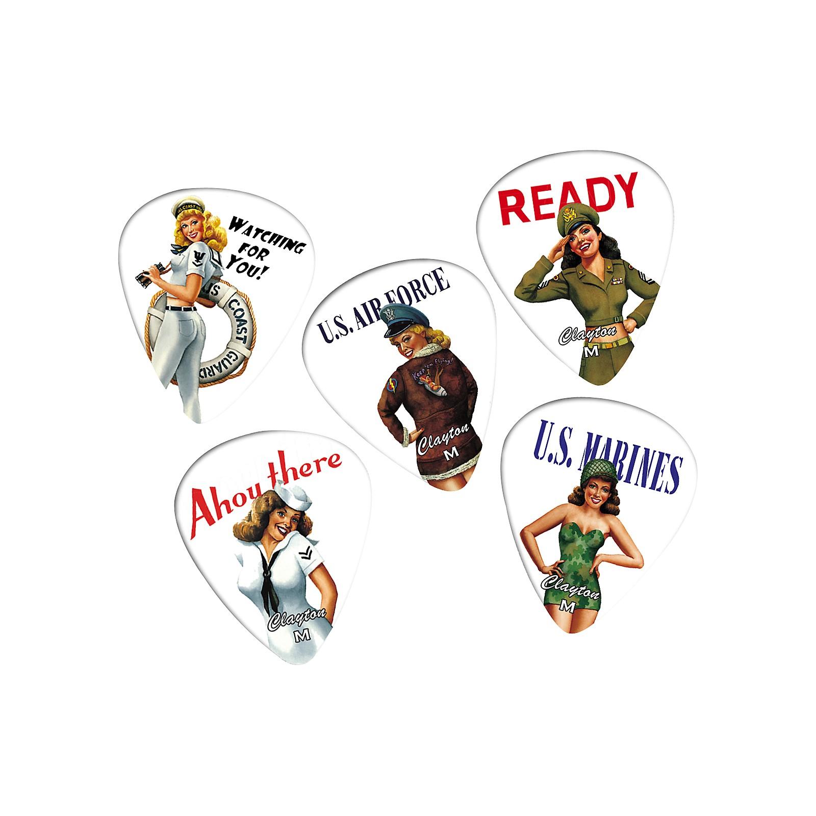 Clayton American Hotties 1 Dozen Guitar Picks