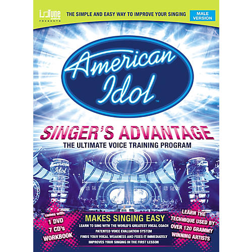 Music Sales American Idol Singer's Advantage - Male (Book/DVD/CD)