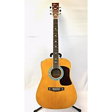 Esteban American Legacy Turquoise Acoustic Electric Guitar