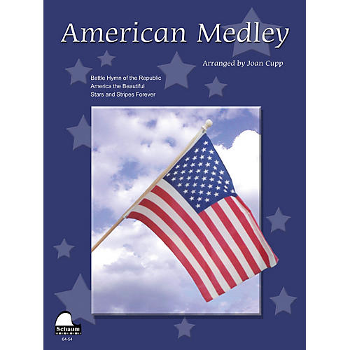SCHAUM American Medley (NFMC 2016-2020 Federation Festivals Bulletin) Educational Piano Book (Level Upper Int)