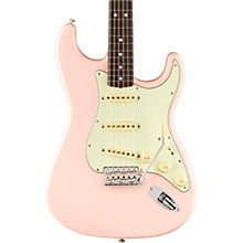 American Original '60s Stratocaster Rosewood Fingerboard Electric Guitar Shell Pink