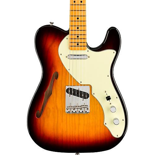 Fender American Original '60s Telecaster Thinline Maple Fingerboard Electric Guitar 3-Color Sunburst