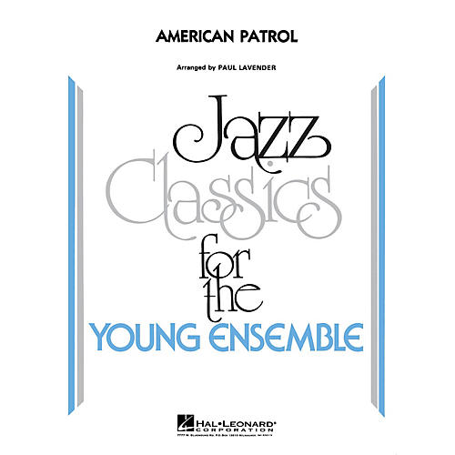Hal Leonard American Patrol Jazz Band Level 3 by Glenn Miller Orchestra Arranged by Paul Lavender
