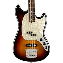 American Performer Mustang Bass Rosewood Fingerboard 3-Color Sunburst