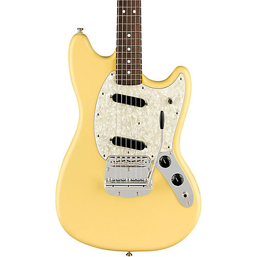 Fender American Performer Mustang Rosewood Fingerboard Electric Guitar Condition 2 - Blemished Vintage White 194744104886