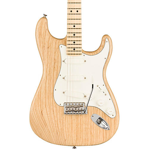 Fender American Performer Raw Ash Stratocaster Limited Edition Electric Guitar Natural