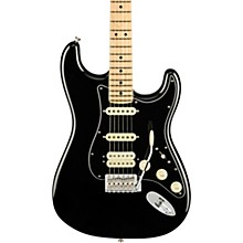 American Performer Stratocaster HSS Maple Fingerboard Electric Guitar Black