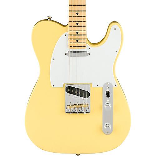 Fender American Performer Telecaster Maple Fingerboard Electric Guitar Vintage White