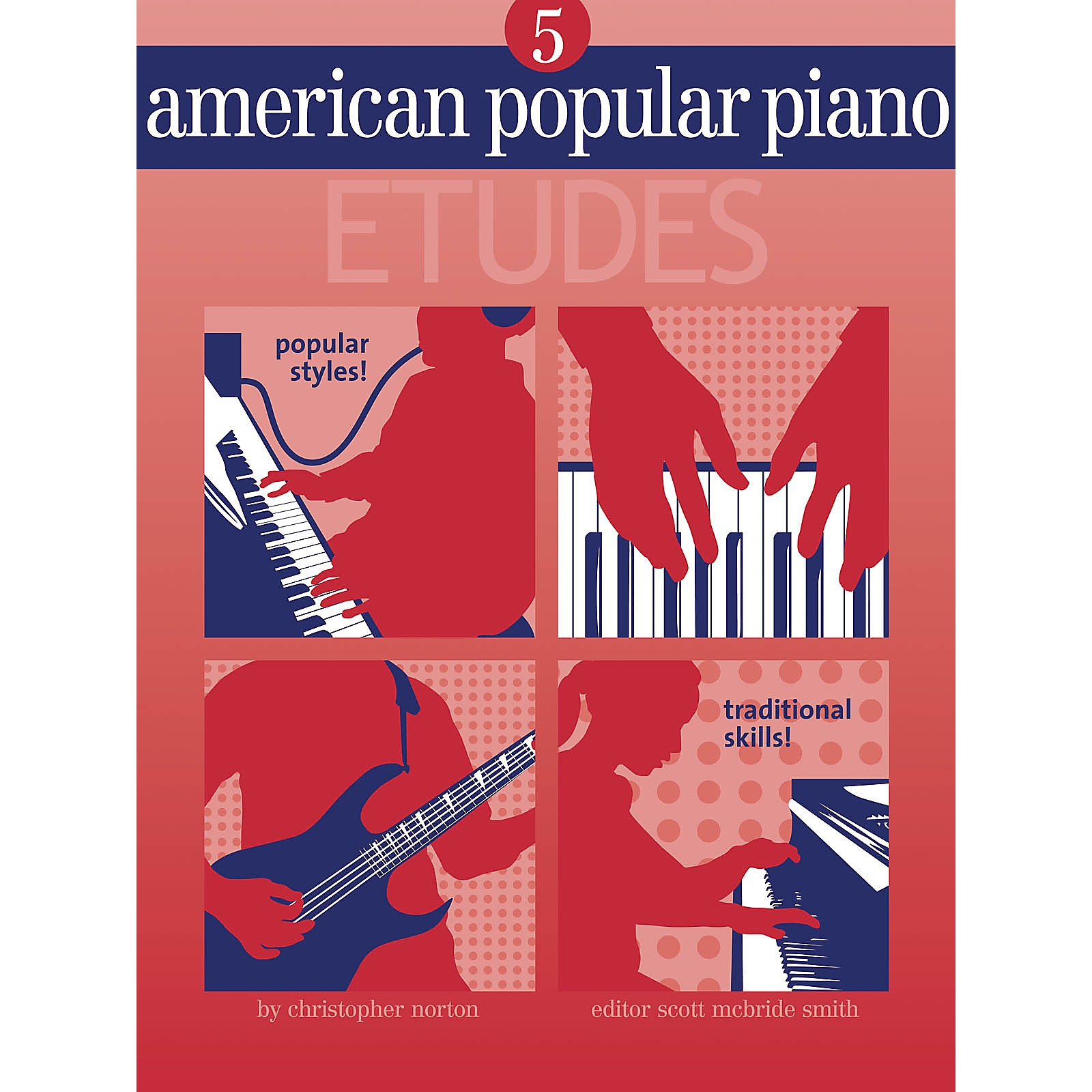 Novus Via American Popular Piano - Etudes Novus Via Music Group Series Softcover Written by Christopher Norton