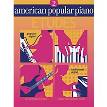 Novus Via American Popular Piano - Etudes Novus Via Music Group Series Softcover Written by Christopher Norton