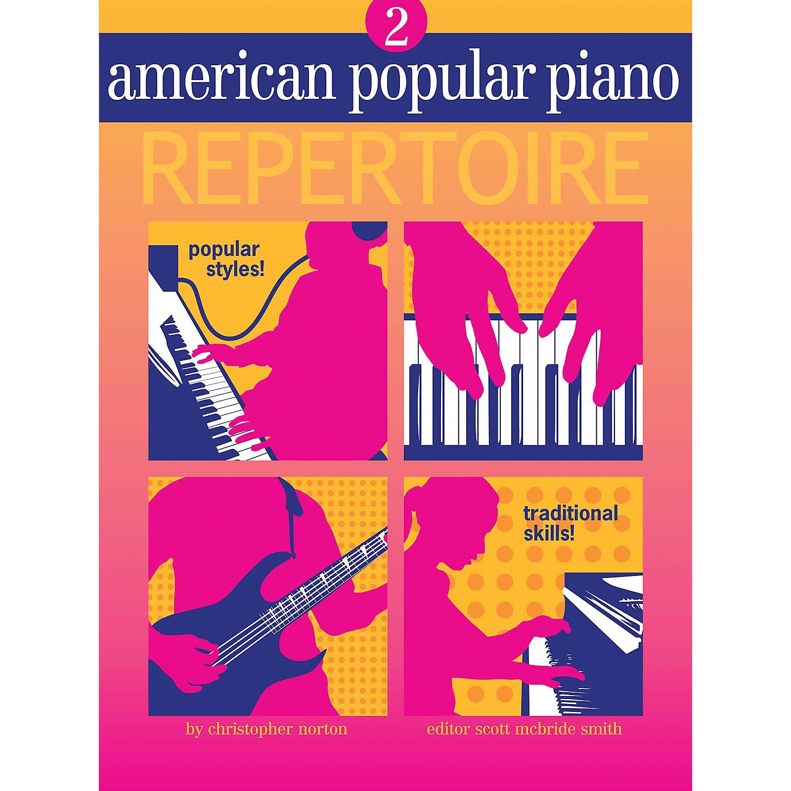 Novus Via American Popular Piano - Repertoire Novus Via Music Group Softcover Media Online by Christopher Norton