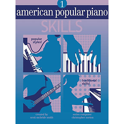 Novus Via American Popular Piano - Skills (Level One - Skills) Novus Via Music Group Series by Christopher Norton