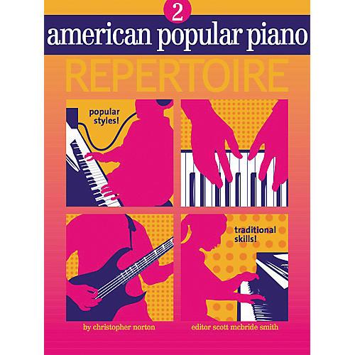 NV Group American Popular Piano Repertoire 2 Book/CD