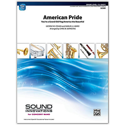 Alfred American Pride Conductor Score 1.5 (Easy)
