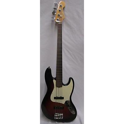 Fender American Professional II Fretless Jazz Electric Bass Guitar