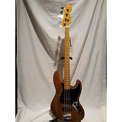 Fender American Professional II Jazz Bass Roasted Pine Electric Bass Guitar