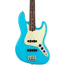 American Professional II Jazz Bass Rosewood Fingerboard Miami Blue