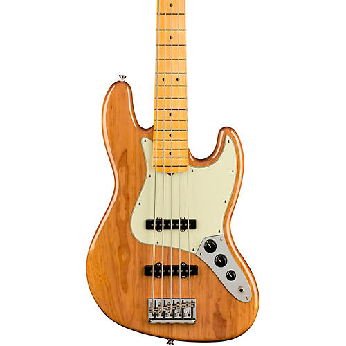 Fender American Professional II Jazz Bass V Roasted Pine Natural