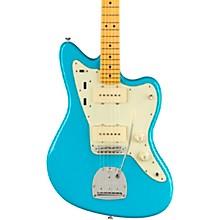 American Professional II Jazzmaster Maple Fingerboard Electric Guitar Miami Blue