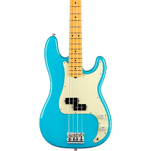 Fender American Professional II Precision Bass Maple Fingerboard Miami Blue