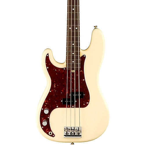 Fender American Professional II Precision Bass Rosewood Fingerboard Left-Handed Olympic White