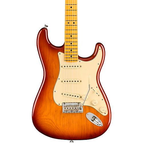 Fender American Professional II Roasted Pine Stratocaster Maple Fingerboard Electric Guitar Sienna Sunburst