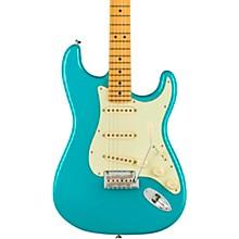 American Professional II Stratocaster Maple Fingerboard Electric Guitar Miami Blue