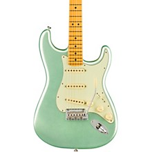 American Professional II Stratocaster Maple Fingerboard Electric Guitar Mystic Surf Green