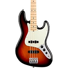 American Professional Jazz Bass Maple Fingerboard 3-Color Sunburst