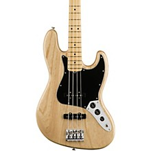 American Professional Jazz Bass Maple Fingerboard Natural