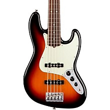 American Professional Jazz Bass V Rosewood Fingerboard 3-Color Sunburst