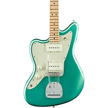 American Professional Jazzmaster Maple Fingerboard Left-Handed Electric Guitar Mystic Seafoam