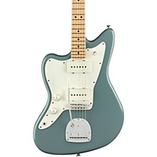 American Professional Jazzmaster Maple Fingerboard Left-Handed Electric Guitar Sonic Gray