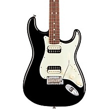 American Professional Stratocaster HH Shawbucker Rosewood Fingerboard Black