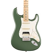 American Professional Stratocaster HSS Shawbucker Maple Fingerboard Electric Guitar Antique Olive