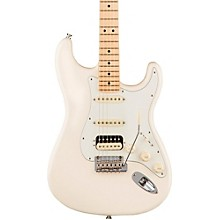 American Professional Stratocaster HSS Shawbucker Maple Fingerboard Electric Guitar Olympic White