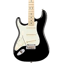 American Professional Stratocaster Left-Handed Maple Fingerboard Electric Guitar Black