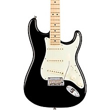 American Professional Stratocaster Maple Fingerboard Electric Guitar Black
