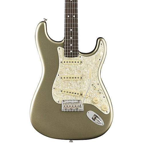 Fender American Professional Stratocaster Rosewood Neck Limited Edition Electric Guitar Champagne