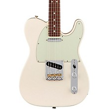 American Professional Telecaster Rosewood Fingerboard Electric Guitar Olympic White