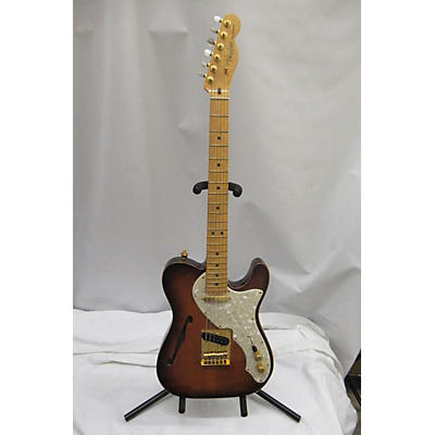 Fender American Select Telecaster Flame Maple Top Chambered Ash Body Hollow Body Electric Guitar