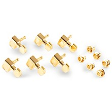 Open Box Fender American Series Stratocaster Guitar Tuners with Gold Hardware Set of 6