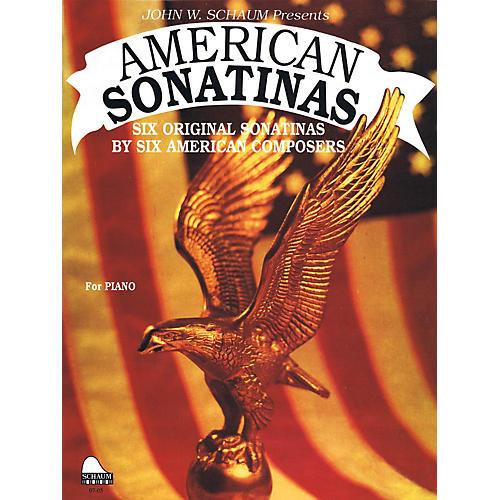 SCHAUM American Sonatinas Educational Piano Series Softcover