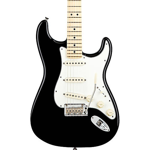 Fender American Standard Stratocaster Electric Guitar with Maple Fingerboard