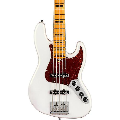 Fender American Ultra Jazz Bass V 5-String Maple Fingerboard Arctic Pearl