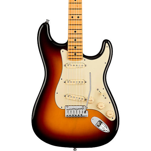 Fender American Ultra Stratocaster Maple Fingerboard Electric Guitar Ultraburst